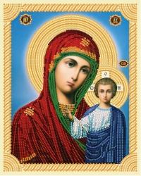 Алмазная Вышивка (мозаика) - Икона - Казанская Божия Матерь (40х50)